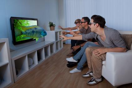 3D Flachbildfernseher
